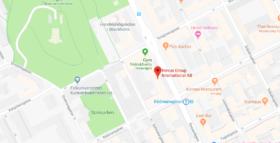 Kartbild för Novus Stockholm (Huvudkontor)
